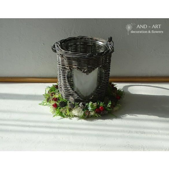 Őszi-téli több funkciós dekoráció.