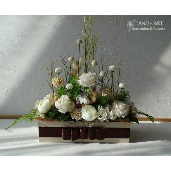 Esküvői dekoráció egyedi kérésre- szettben.