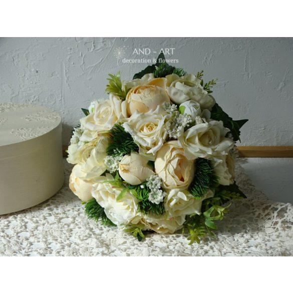 Menyasszonyi csokor- nyári esküvőre