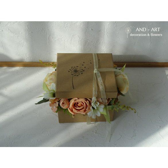 Szeretetdoboz-ajándékba. Születésnap, névnap ,esküvő, ballagás...