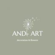 Modern tavaszi asztaldísz.Zöld-sárga.