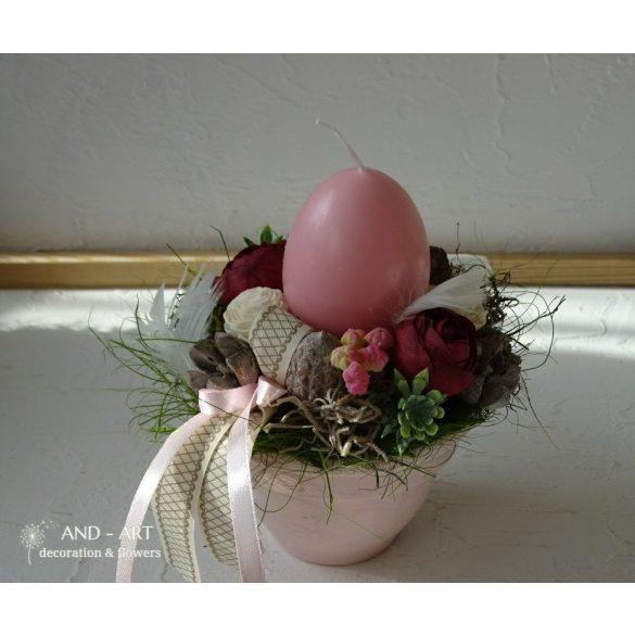 Tavaszi húsvéti asztaldísz variációk
