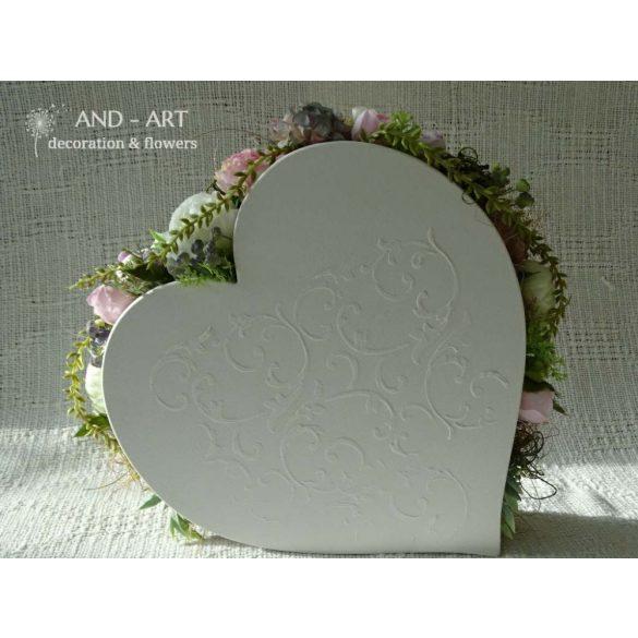 Szeretettel... Szülinapi, névnapi, Anyák napi ajándék, Esküvői dekoráció, romantikus otthon dísz.