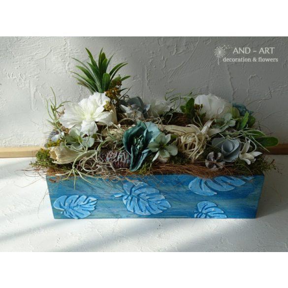 Nyári dekoráció-asztaldísz 3. And-art mód.