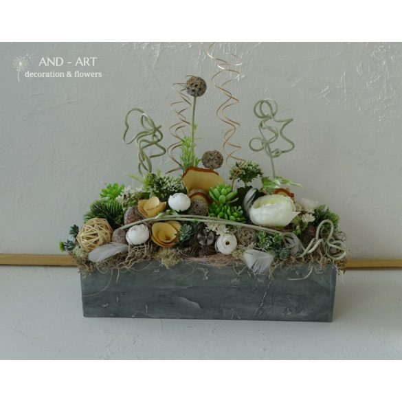 Modern asztali dekoráció-Egyedi kérésre.