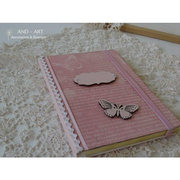 Roses...Pillangós jegyzetfüzet.