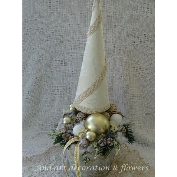 Karácsonyi elegancia. Dekoráció
