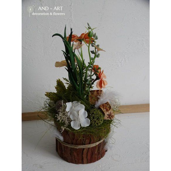 Nyuszis tavaszi dekoráció. Több színben.